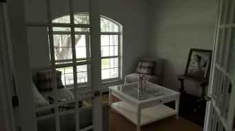 apartment architecture carpet chair